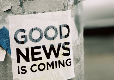 Where is the good news?