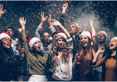 Is it possible to fill the gap left by the Christmas party?